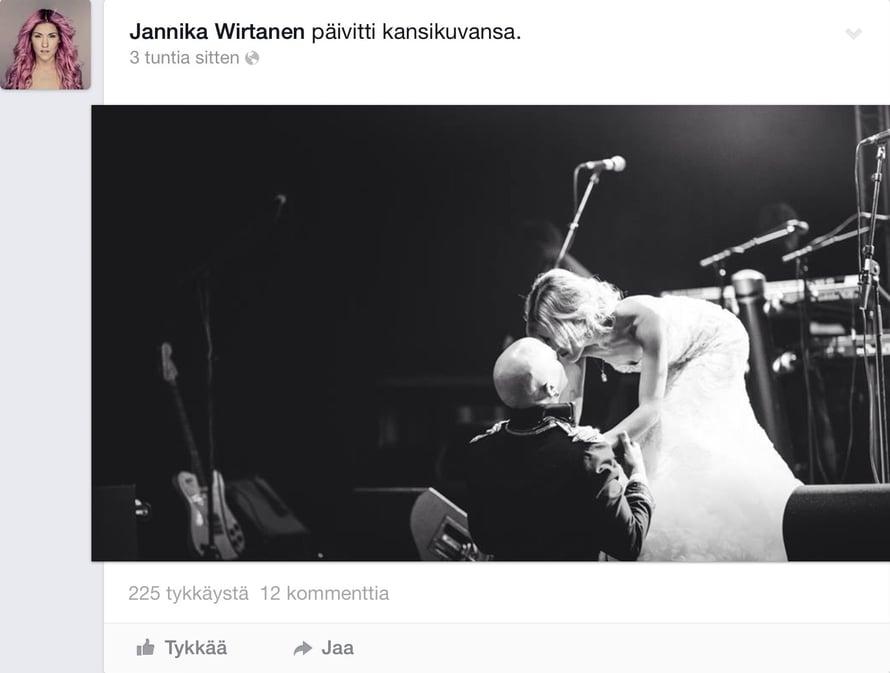 Jannika B Ja Toni Wirtanen Julkaisivat Haakuvansa Me Naiset