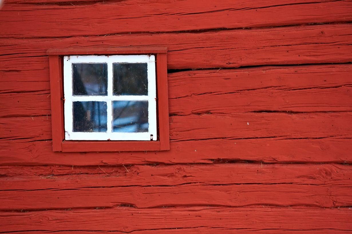 Haaveena punainen tupa ja perunamaa, mutta mistä? Kuva: Shutterstock