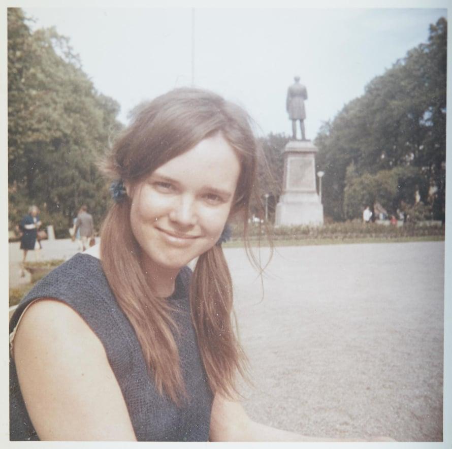Helsinki. 1970-luvun alussa Merete oli nuori äiti.