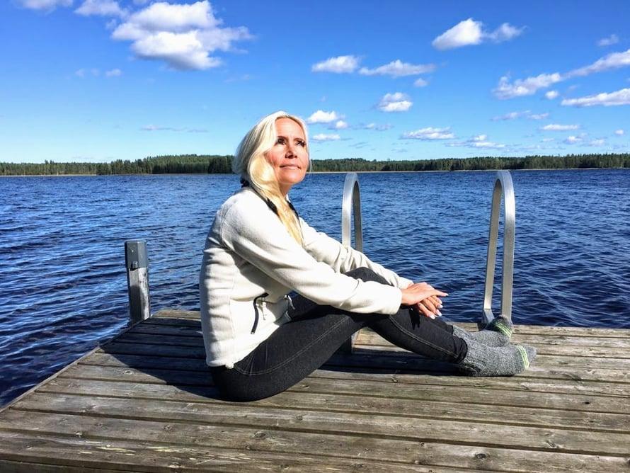 Oihonna Vilhu on toiminut terapeuttina kuusi vuotta.