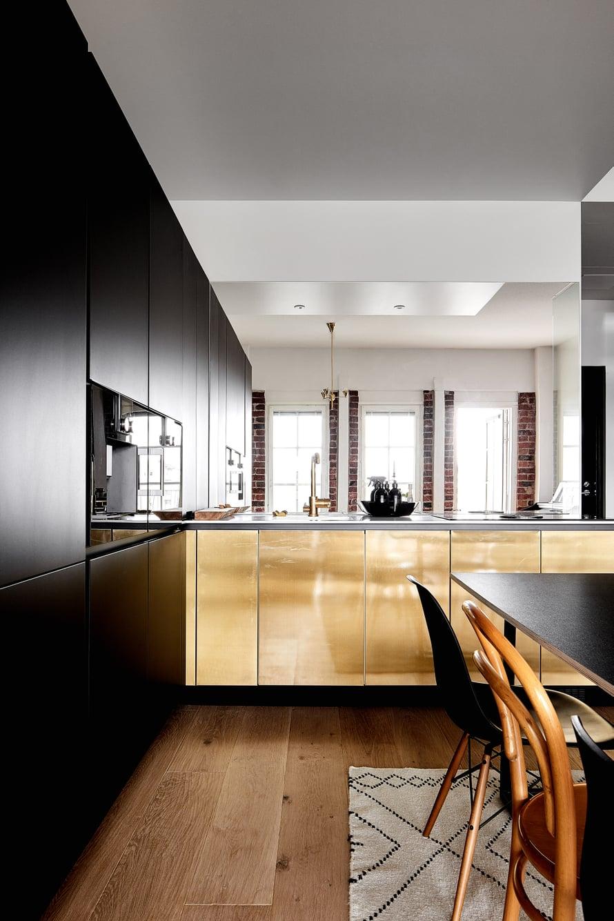 Keittiö on Kitzenin mallistosta. Kuva: Krista Keltanen