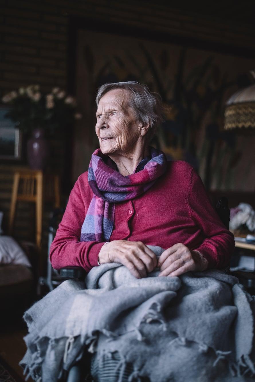 Annikki Korhonen on saanut pitkän elämän, mutta muuttoja hän ei enää jaksa.