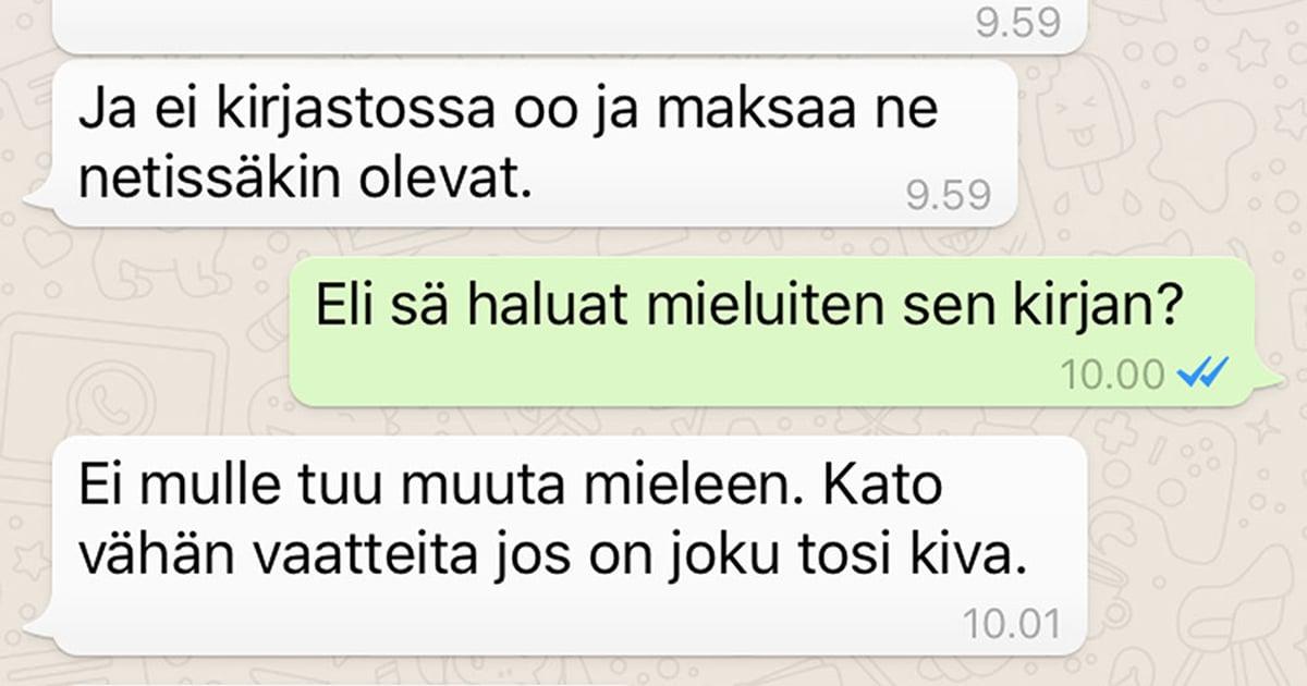 Whatsapp Väkäset