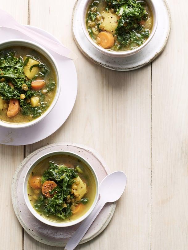 Maistuvat kasviskeitot ovat helppo tapa lisätä kasviksia ruokavalioon.