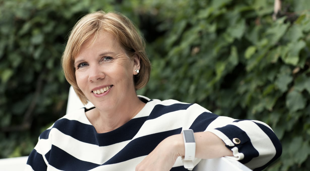 Anna-Maja Henriksson oppi ottamaan vastuuta jo lapsena.