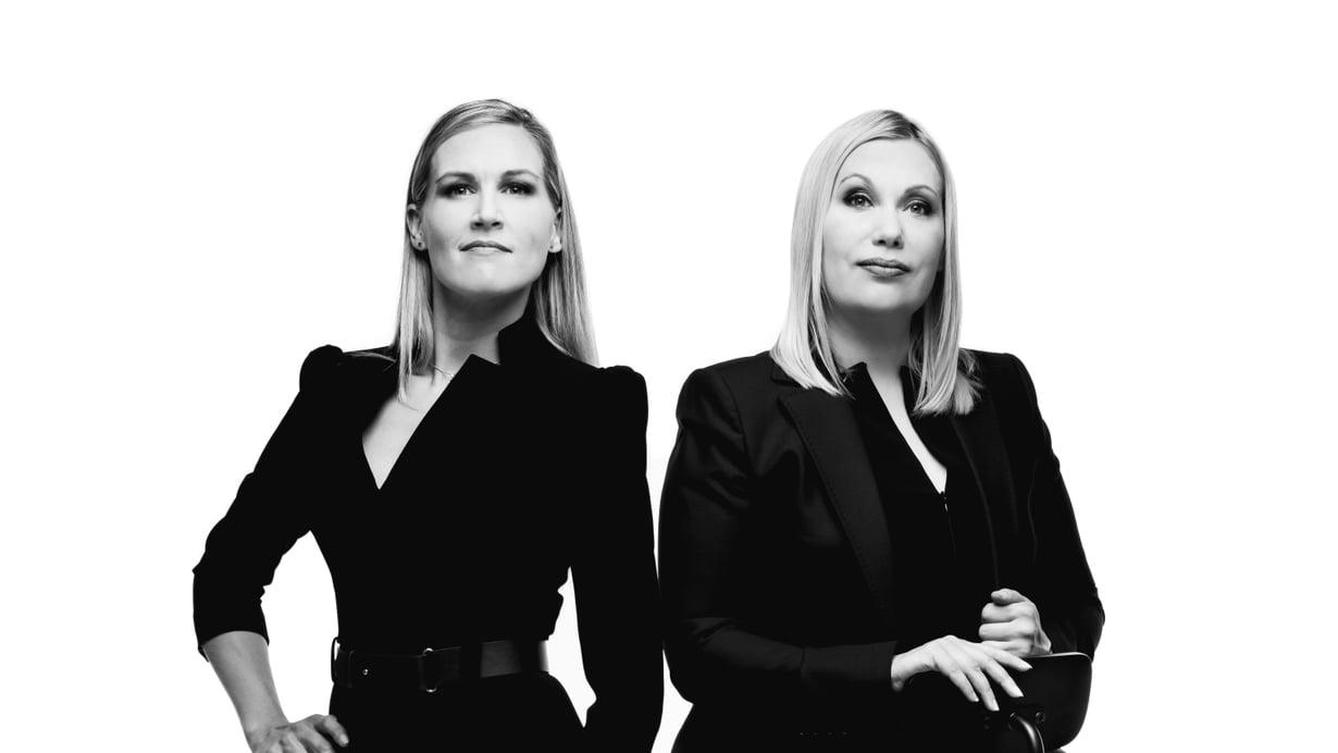 Sannikka & Ukkola on Marja Sannikan ja Sanna Ukkolan talkshow, joka haastaa ajattelemaan maailmaa uudesta vinkkelistä. Kuva: Jussi Nahkuri/Yle Kuvapalvelu