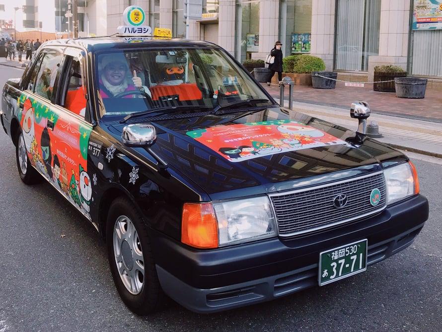 Näitä pukkitakseja on tuhansia Japanin eri kaupungeissa.