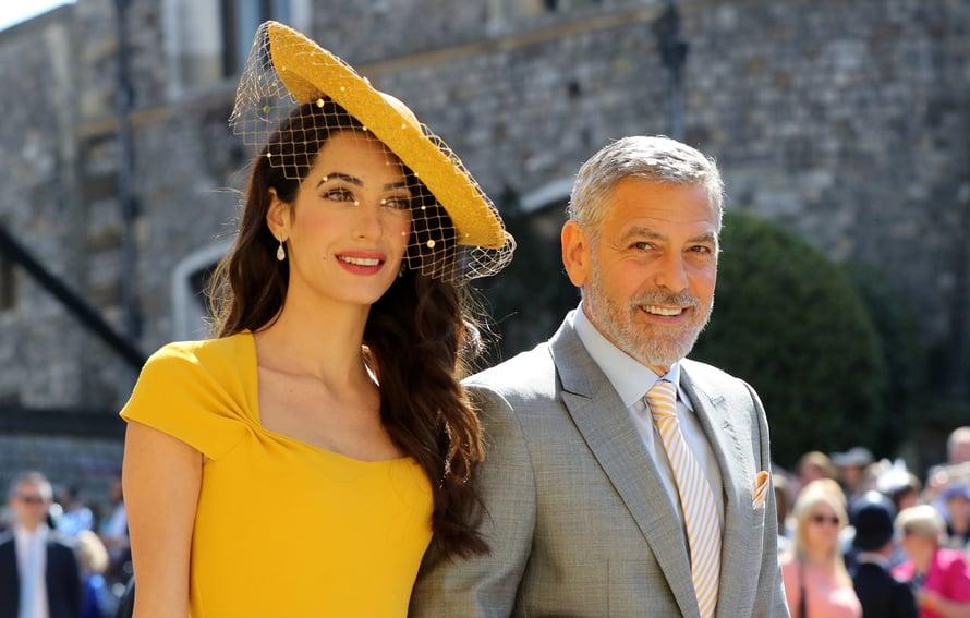 Amal ja George Clooney. Kuva: Reuters