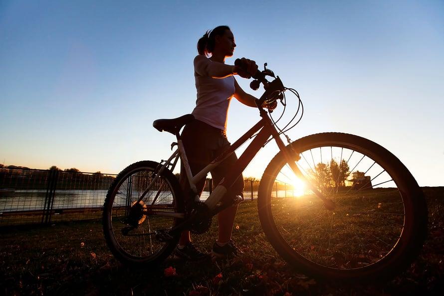Se on hauskaa ja hyödyllistä, työmatkapyöräilijät sanovat. Kuva: Shutterstock