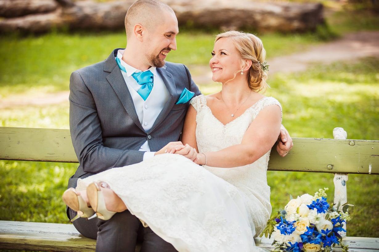 Miina ja Heikki avioituivat viime kesänä sarjan kuvauksissa. Kuva: MTV