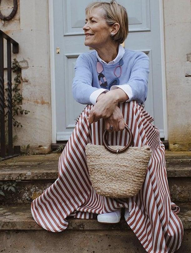 Hannah McLeodin Sue-äidin tyyli sopii Suomenkin suveen kuin nakutettu.