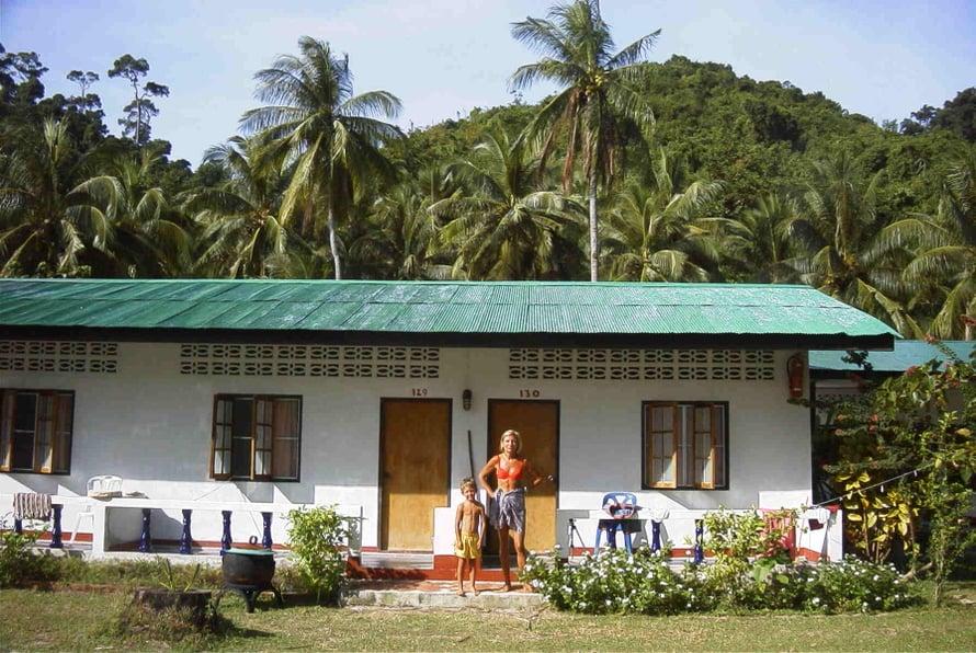 Kaksi kuukautta Koh Hailla. Huone oli vaatimaton, mutta saari paratiisi.