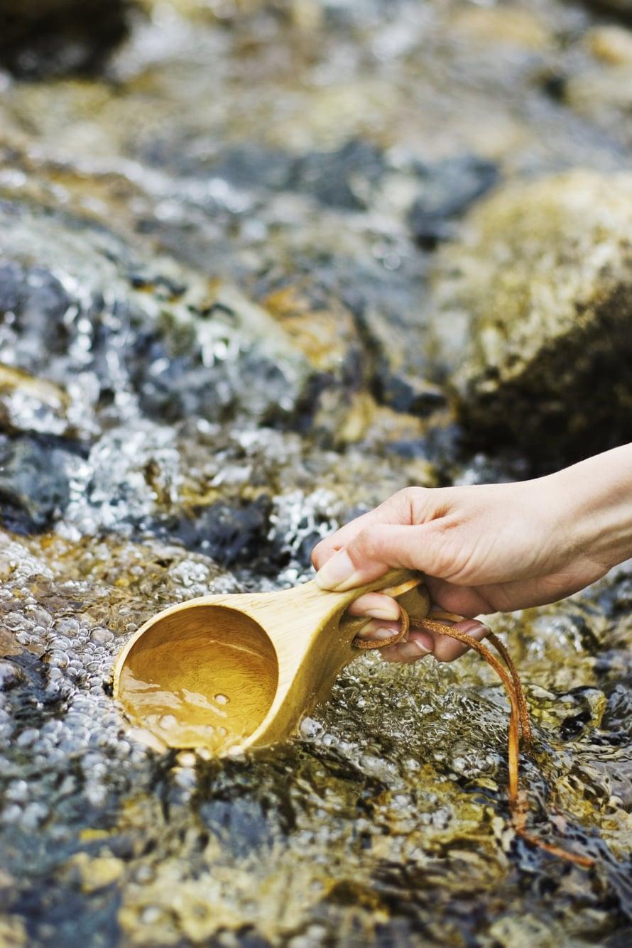 Tunturipurojen raikas vesi sopii juomaksi.