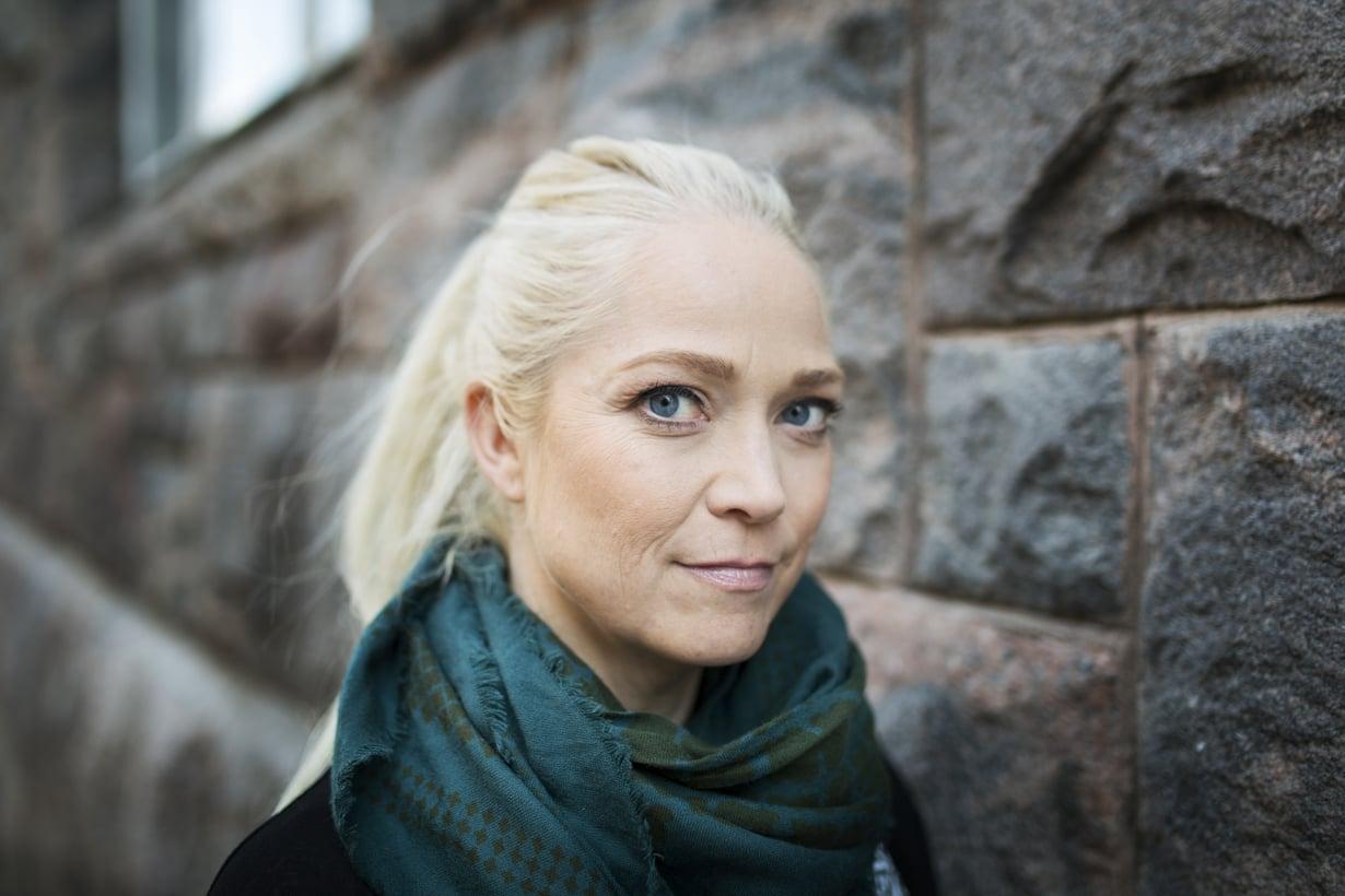 Pippa Laukka kritisoi fitnessurheilua Helsingin Sanomissa. Kuva: Sanoma-arkisto / Jonne Heinonen