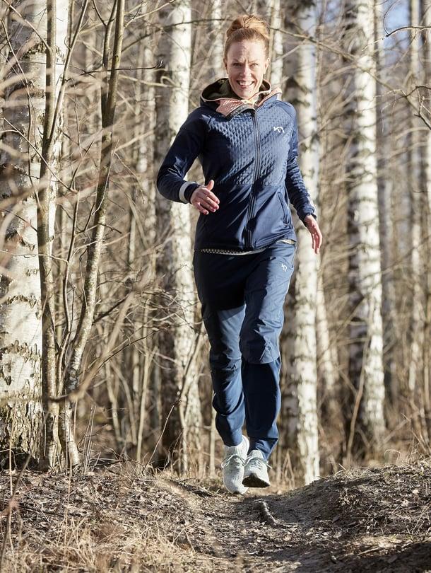 Elsi Reunalalle, 39, juoksu on hyvinvoinnin lähde ja stressin lievittäjä.
